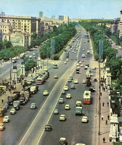 Moscow thap nien 1960 ruc ro trong anh cua pho nhay Canada (2)