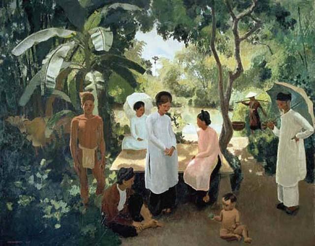 Ngam loat tranh tuyet dep ve Viet Nam 1 the ky truoc-Hinh-4