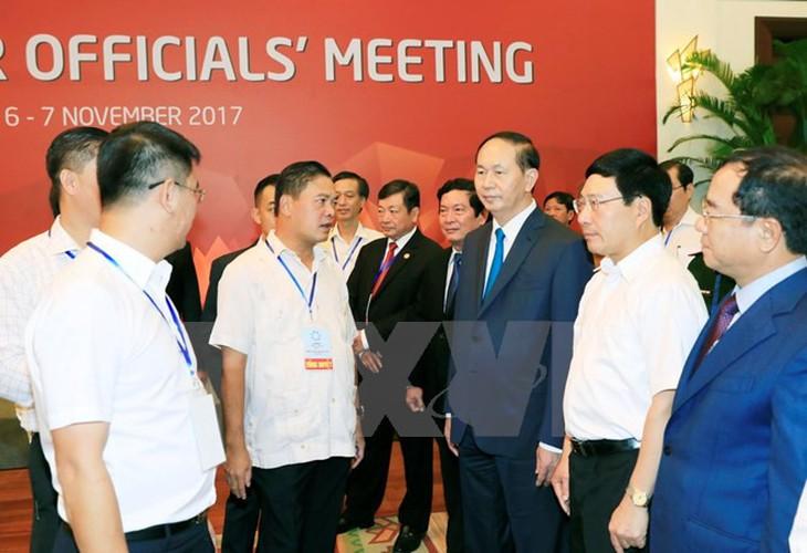 Toan canh tong duyet cac hoat dong cua Tuan le Cap cao APEC 2017