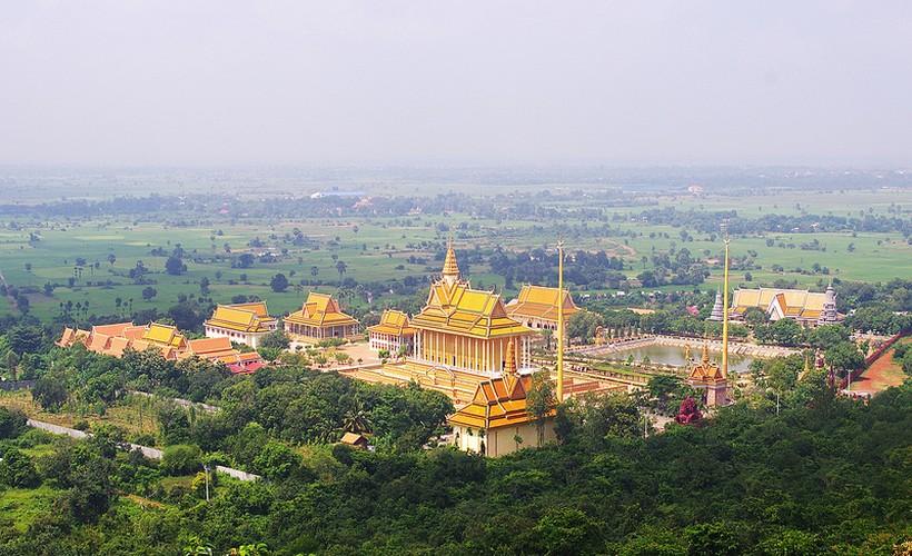 Net dep co do Oudong it nguoi biet cua Campuchia
