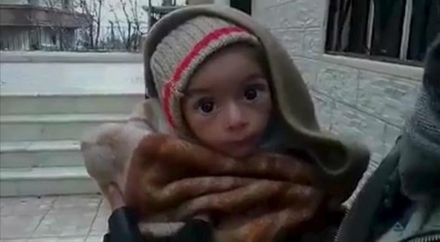 Khung hoang nhan dao o Syria qua anh
