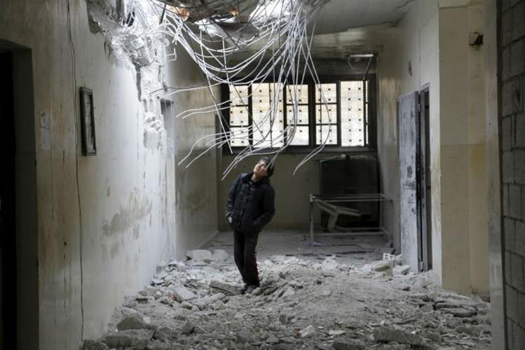 Dat nuoc Syria dau thuong qua loat anh moi nhat-Hinh-12