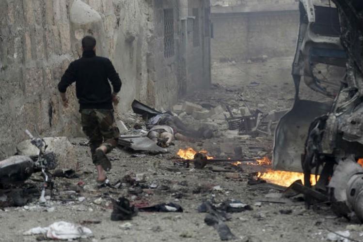 Dat nuoc Syria dau thuong qua loat anh moi nhat-Hinh-2