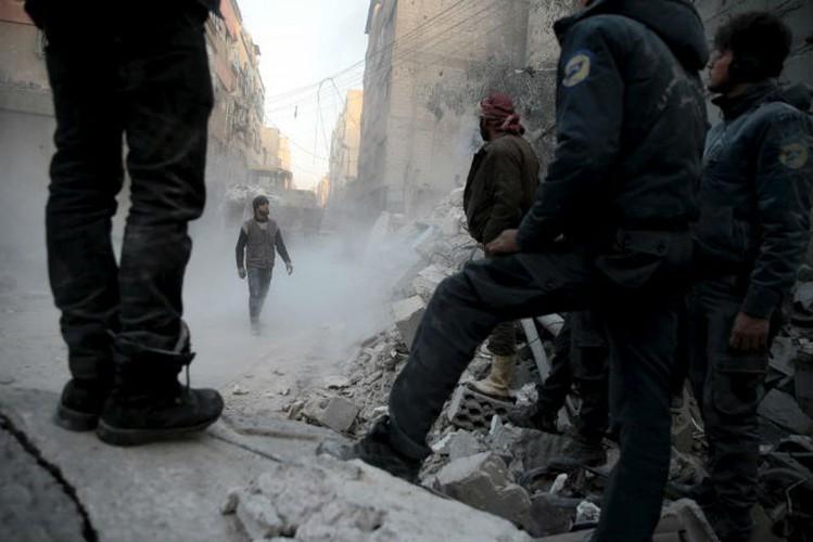 Dat nuoc Syria dau thuong qua loat anh moi nhat-Hinh-4