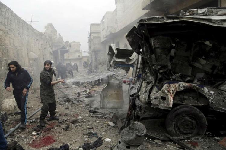 Dat nuoc Syria dau thuong qua loat anh moi nhat-Hinh-5