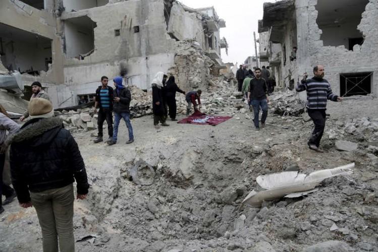 Dat nuoc Syria dau thuong qua loat anh moi nhat-Hinh-8