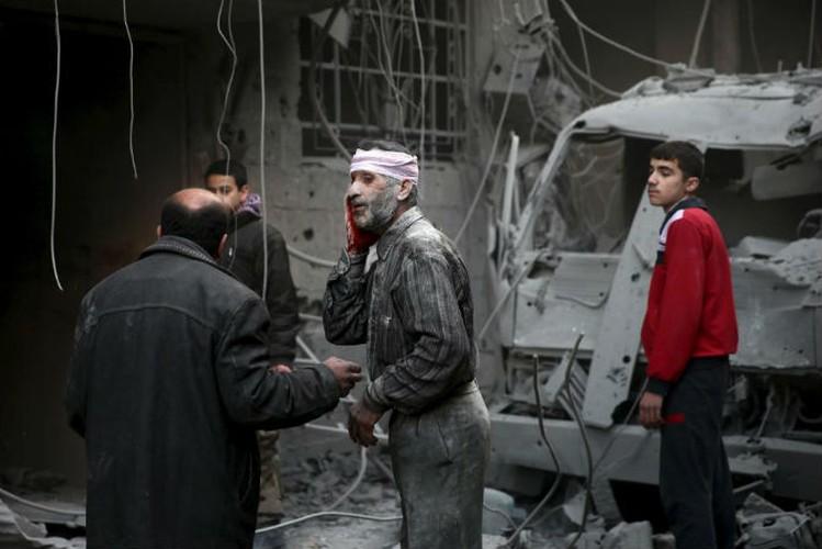 Dat nuoc Syria dau thuong qua loat anh moi nhat-Hinh-9