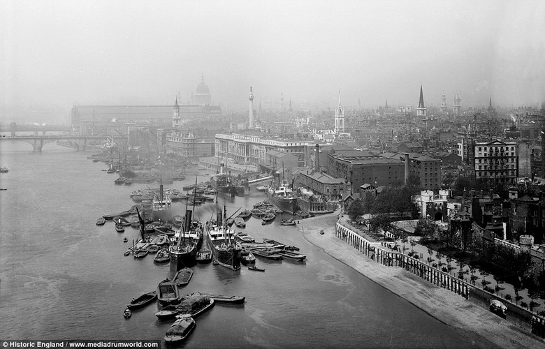 "Kham pha ""thoi hoang kim"" cua song Thames"