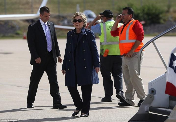 Chum anh ba Clinton, ong Trump truoc cuoc tranh luan lan 2-Hinh-11