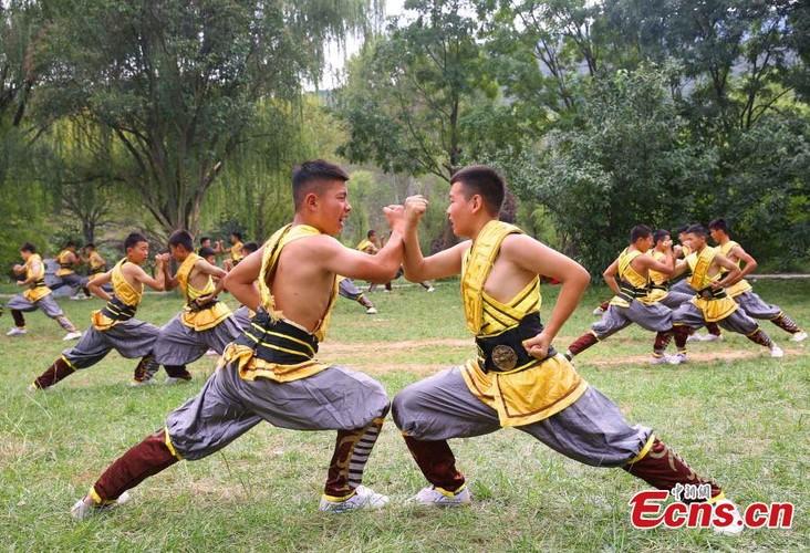 Canh kho luyen cua vo sinh Thieu Lam o Trung Quoc-Hinh-5