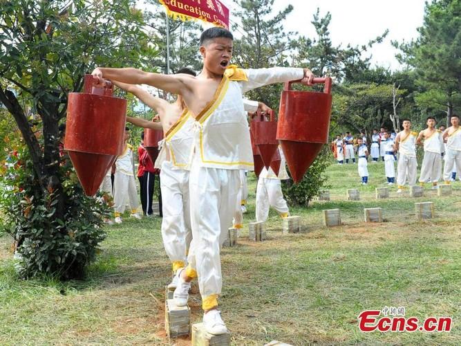 Canh kho luyen cua vo sinh Thieu Lam o Trung Quoc-Hinh-7