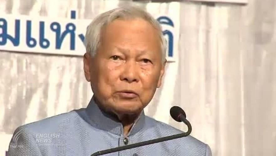 Chan dung Tuong Prem Tinsulanonda se nhiep chinh o Thai Lan