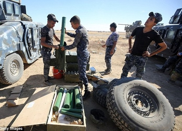 Hinh anh ban dau cua chien dich giai phong Mosul-Hinh-7