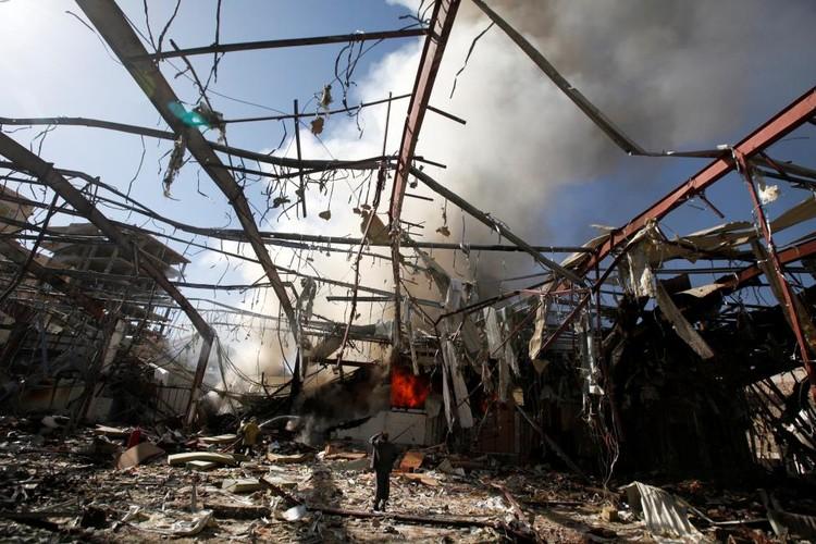 Canh tan hoang o dat nuoc Yemen ben bo vuc sup do