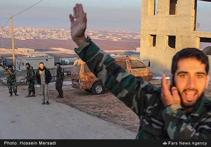 Chum anh quan dan Syria an mung chien thang Aleppo-Hinh-11