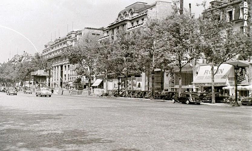 Cuoc song thuong nhat o thu do Paris nam 1955 qua anh-Hinh-10