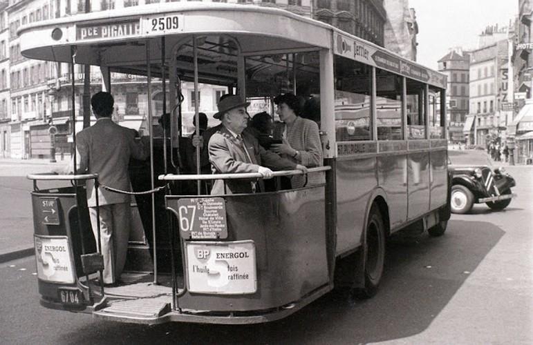 Cuoc song thuong nhat o thu do Paris nam 1955 qua anh-Hinh-12