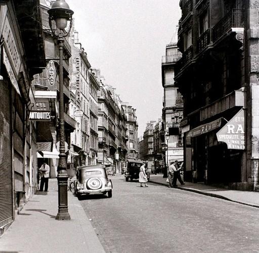Cuoc song thuong nhat o thu do Paris nam 1955 qua anh-Hinh-13