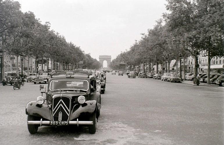 Cuoc song thuong nhat o thu do Paris nam 1955 qua anh-Hinh-8