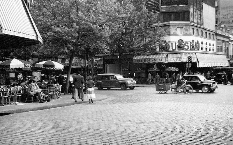 Cuoc song thuong nhat o thu do Paris nam 1955 qua anh