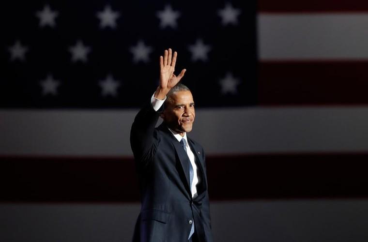 Hinh anh Tong thong Obama trong buoi phat bieu chia tay-Hinh-2