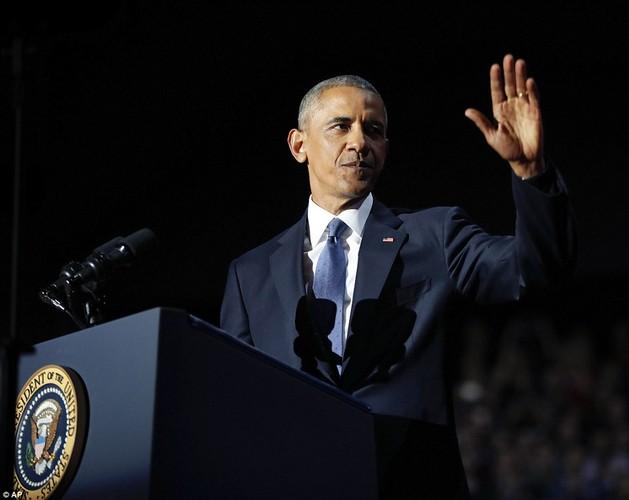 Hinh anh Tong thong Obama trong buoi phat bieu chia tay-Hinh-3
