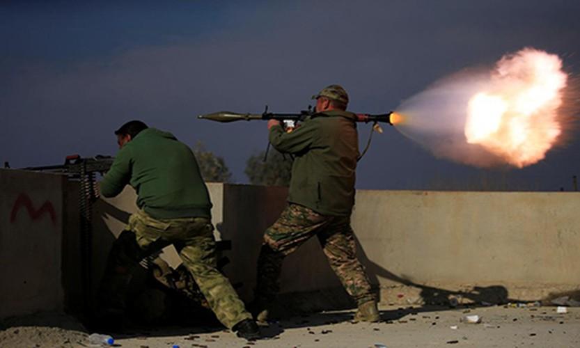 Anh: Dac nhiem Iraq thua thang xoc toi o thanh pho Mosul