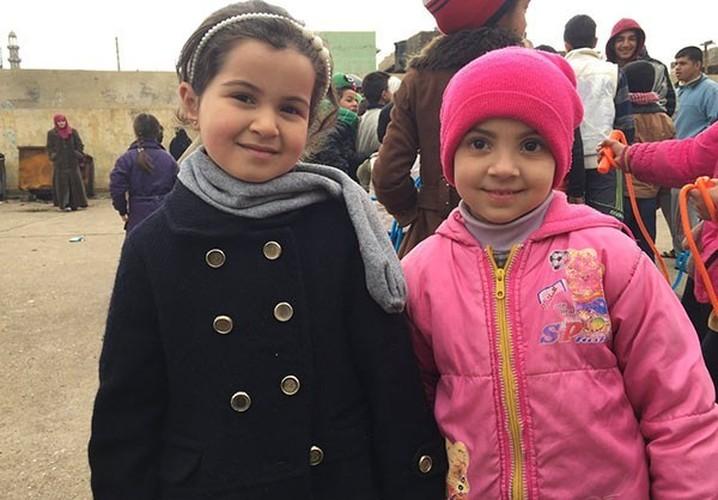 Anh: Hoc sinh Iraq no nuc di hoc o thanh pho Mosul-Hinh-14