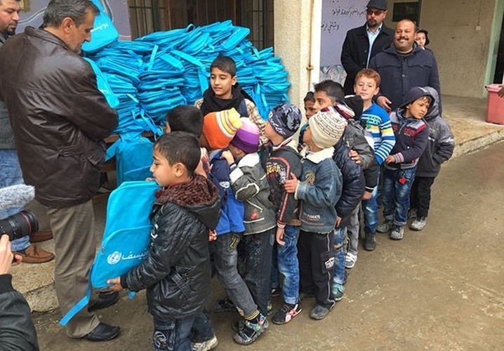 Anh: Hoc sinh Iraq no nuc di hoc o thanh pho Mosul-Hinh-7