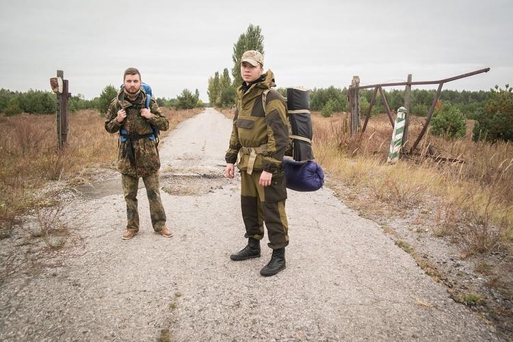 """Chum anh lieu linh dot nhap """"vung dat chet"""" Chernobyl o Ukraine"""