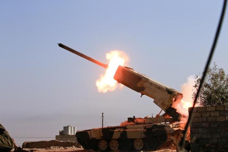 Anh: Luc luong Iraq giai phong san bay Mosul khoi IS-Hinh-2