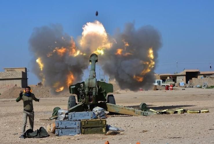 Anh: Luc luong Iraq giai phong san bay Mosul khoi IS-Hinh-7