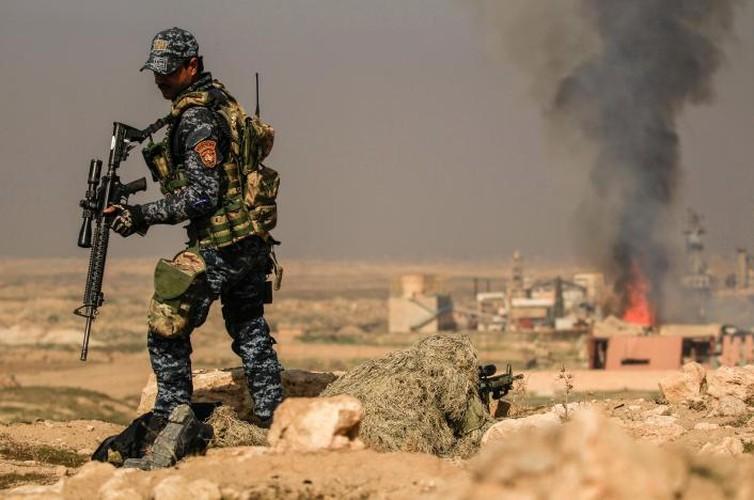 Anh: Luc luong Iraq giai phong san bay Mosul khoi IS