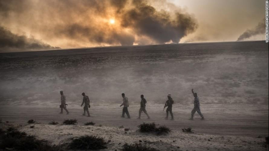 Chien dich giai phong Mosul: Khoc liet tren nhieu mat tran (1)-Hinh-7