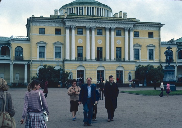 Anh hiem cuoc song o thanh pho Leningrad nam 1984