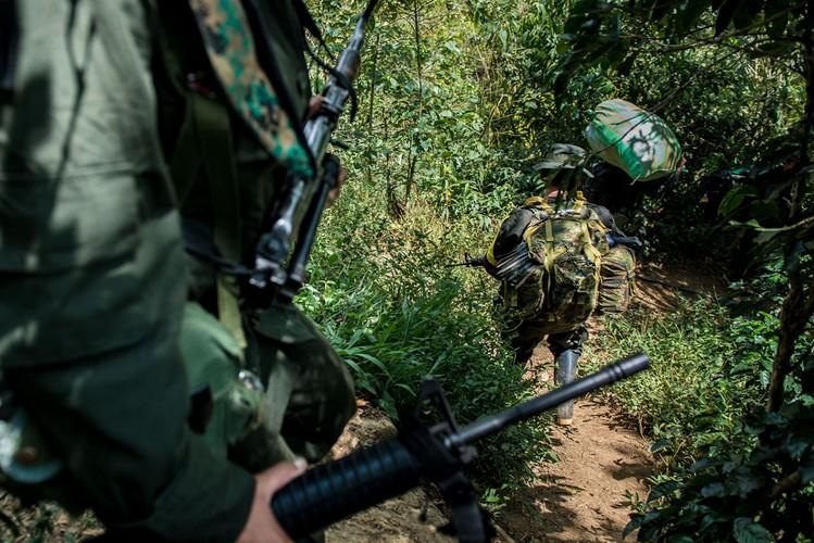 Chum anh moi nhat ve cac chien binh FARC thoi binh-Hinh-8