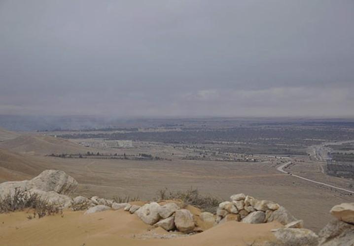 Ben trong thanh pho co Palmyra moi giai phong khoi IS-Hinh-5