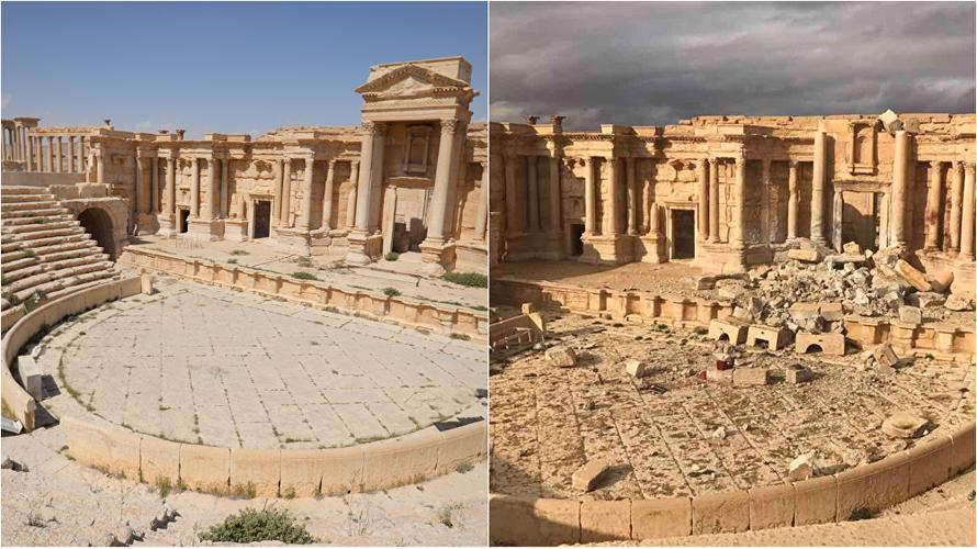 Hinh anh thanh pho Palmyra truoc va sau giai phong lan 2-Hinh-6