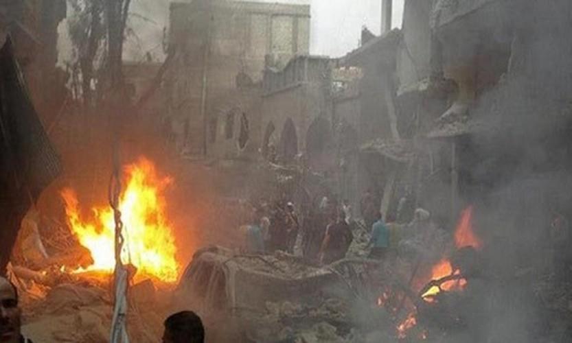 Hien truong danh bom kep o Damascus, hon 130 nguoi thuong vong-Hinh-8