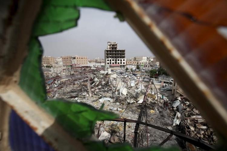 Toan canh lien quan A-rap khong kich quan noi day Houthi o Yemen-Hinh-5