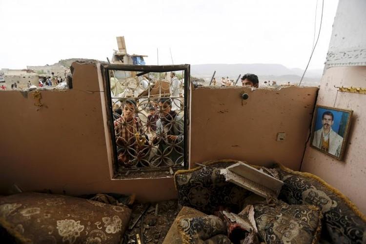Toan canh lien quan A-rap khong kich quan noi day Houthi o Yemen-Hinh-8