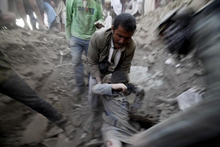 Toan canh lien quan A-rap khong kich quan noi day Houthi o Yemen-Hinh-9