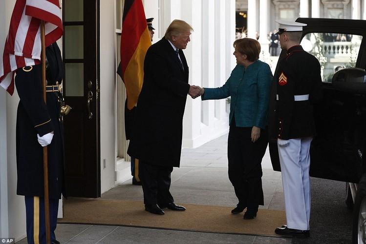 Anh: Tong thong Trump tiep Thu tuong Duc Merkel tai Nha Trang-Hinh-2