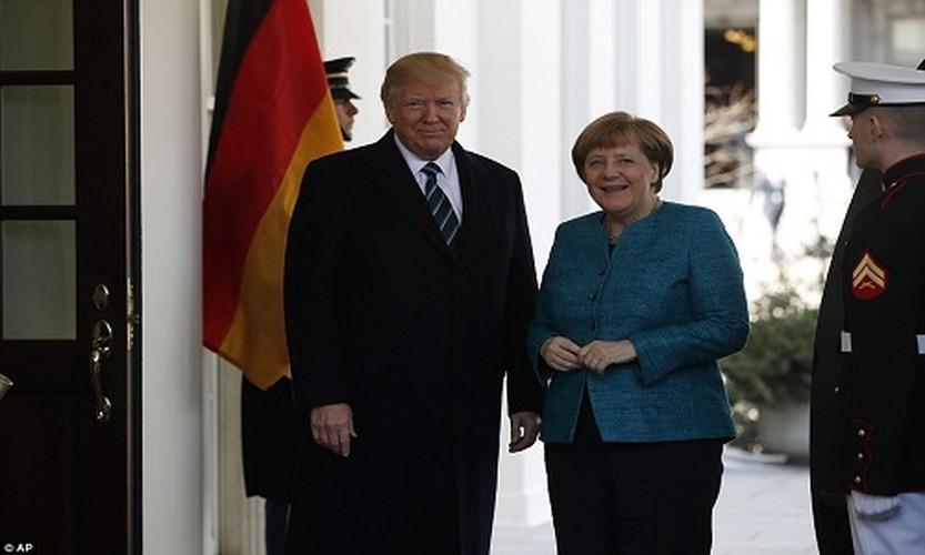 Anh: Tong thong Trump tiep Thu tuong Duc Merkel tai Nha Trang-Hinh-3
