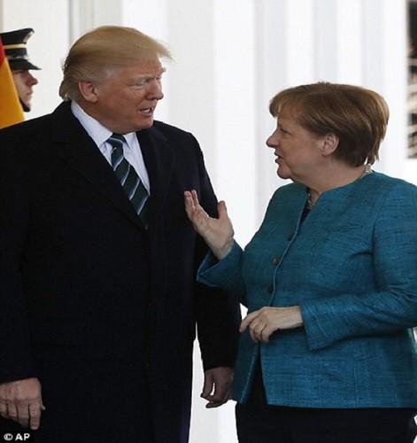 Anh: Tong thong Trump tiep Thu tuong Duc Merkel tai Nha Trang-Hinh-4