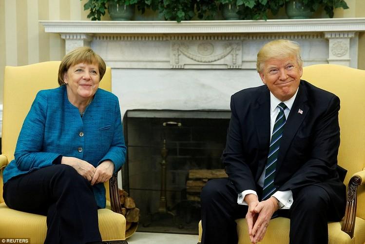 Anh: Tong thong Trump tiep Thu tuong Duc Merkel tai Nha Trang-Hinh-5
