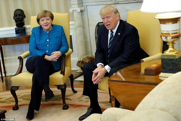 Anh: Tong thong Trump tiep Thu tuong Duc Merkel tai Nha Trang-Hinh-6