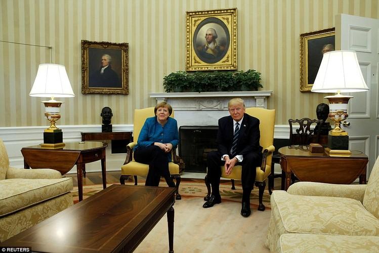 Anh: Tong thong Trump tiep Thu tuong Duc Merkel tai Nha Trang-Hinh-7