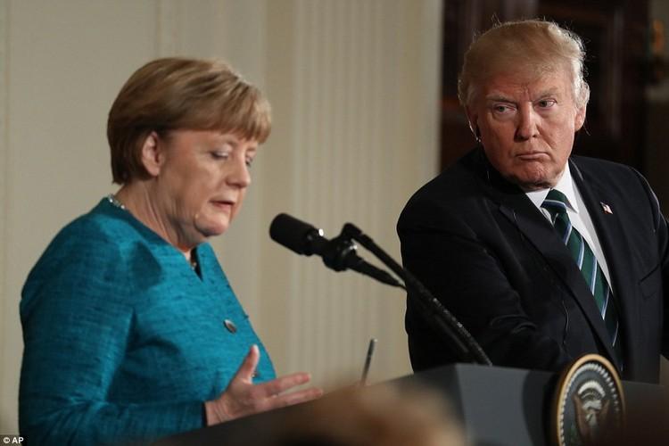Anh: Tong thong Trump tiep Thu tuong Duc Merkel tai Nha Trang-Hinh-8