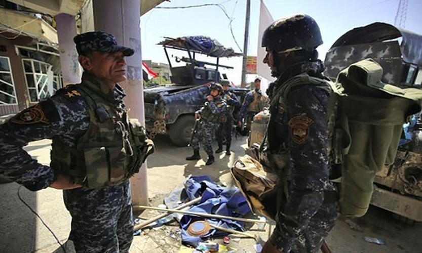 Anh: Luc luong Iraq giai phong 30% Thanh co Mosul-Hinh-2